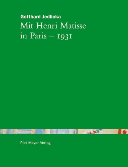 Mit Henri Matisse in Paris - 1931