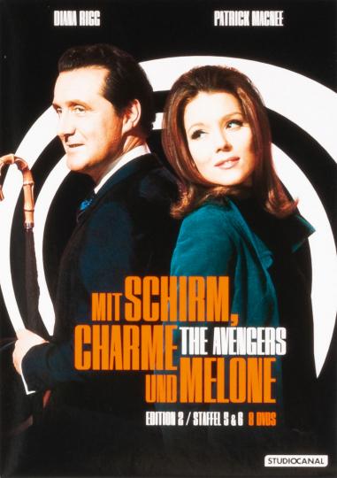 Mit Schirm, Charme und Melone Edition 2. 8 DVDs.