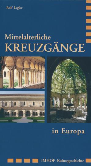 Mittelalterliche Kreuzgänge in Europa.