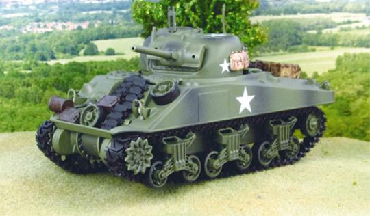 Modell Kampfpanzer US M4 Sherman - Maßstab 1:32