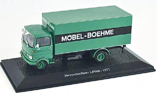 Modell Mercedes Benz LP608 Transporter 1962
