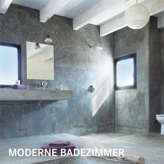 Moderne Badezimmer.