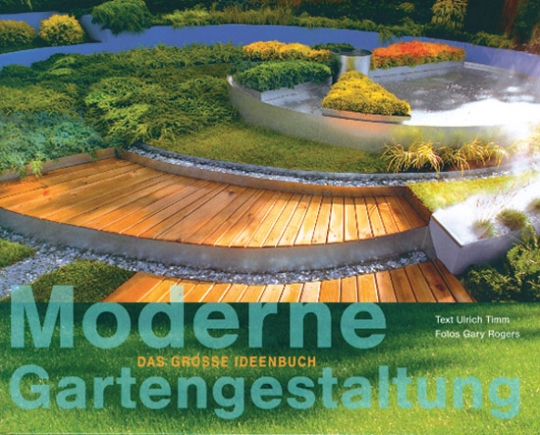 Moderne Gartengestaltung.