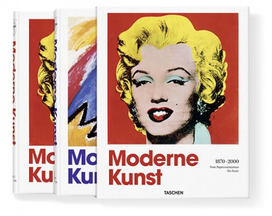 Moderne Kunst. 1870-2000. Vom Impressionismus bis heute. 2 Bände.