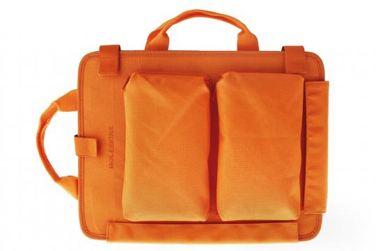 Moleskine Dokumententasche, orange.