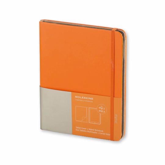 Moleskine Ipad-Hülle 3 & 4, orange.