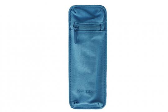 Moleskine Mehrzweck-Federtasche, blau.