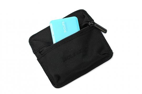 Moleskine Multifunktionstasche, schwarz, klein.