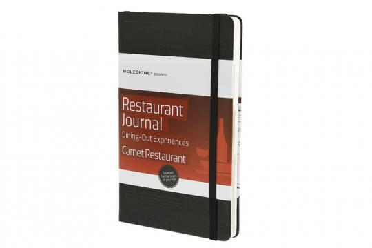 »Moleskine« Restaurant Tagebuch.