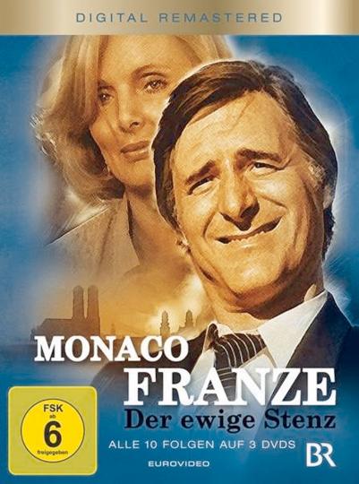Monaco Franze: Der ewige Stenz (Komplette Serie). 3 DVDs.