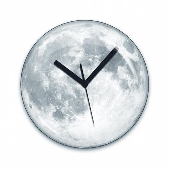 Mondlicht Wanduhr