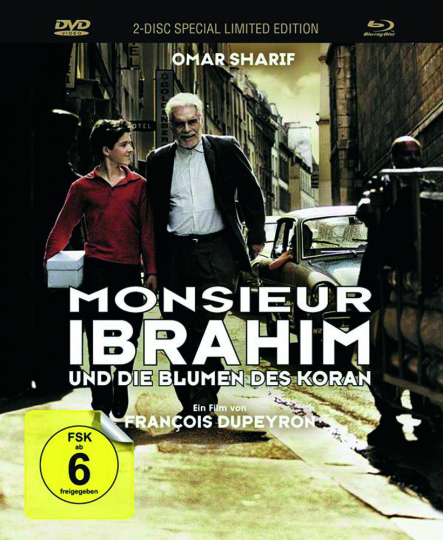 Monsieur Ibrahim und die Blumen des Koran (Mediabook). 1 Blu-ray, 1 DVD.