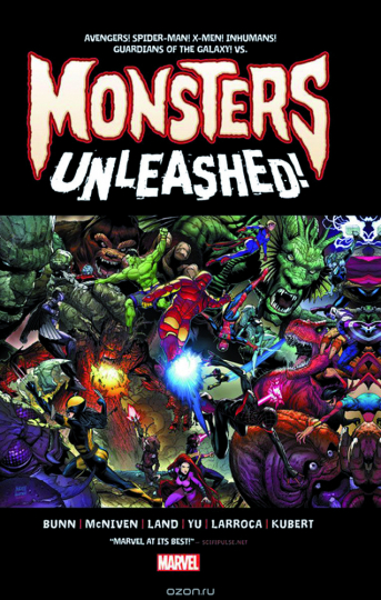 Monsters Unleashed! Monstersize.