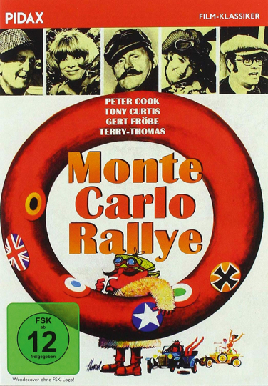Monte Carlo Rallye. DVD.