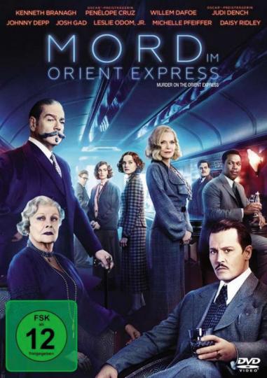 Mord im Orient-Express (2017). DVD