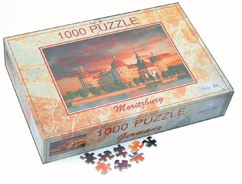 Moritzburg - Puzzle, 1.000 Teile