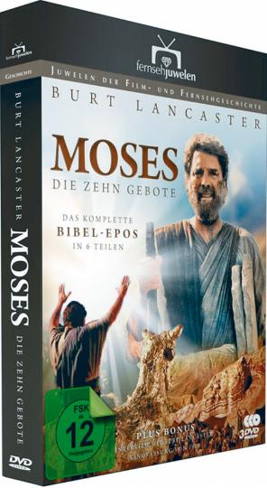Moses Die zehn Gebote 3 DVDs