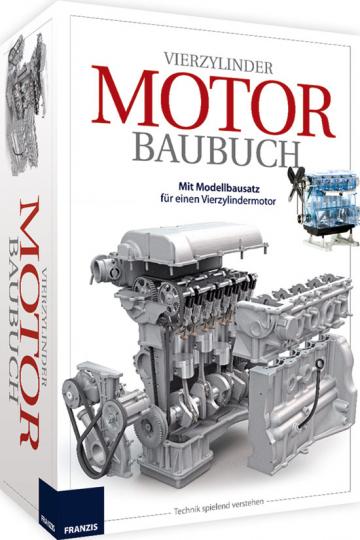 Motor. Das große Vierzylinder Baubuch. Handbuch mit Bausatz.