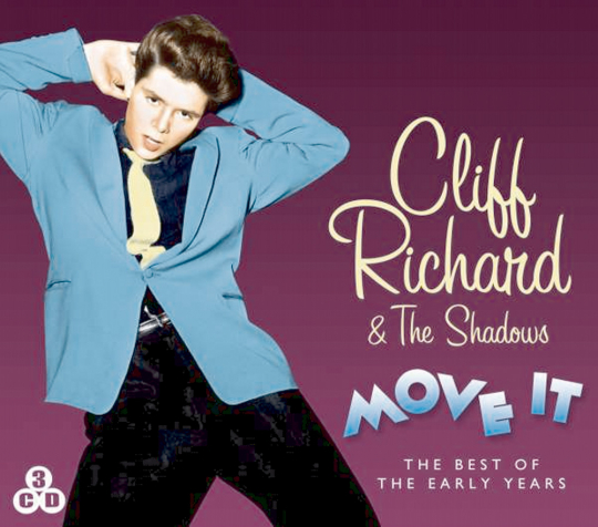 Cliff Richard & The Shadows. Move it 3 CDs