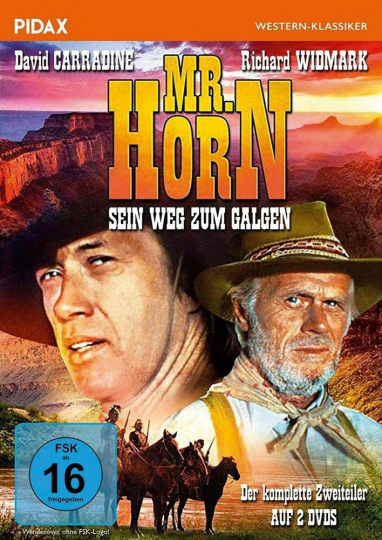 Mr. Horn. Sein Weg zum Galgen. DVD