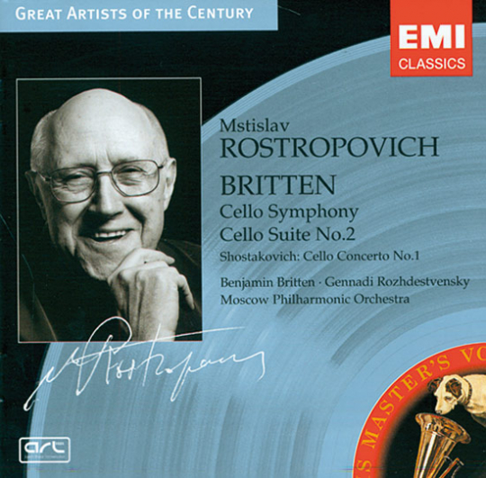 Mstislav Rostropovich. CD.