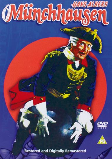 Münchhausen 1943. DVD.