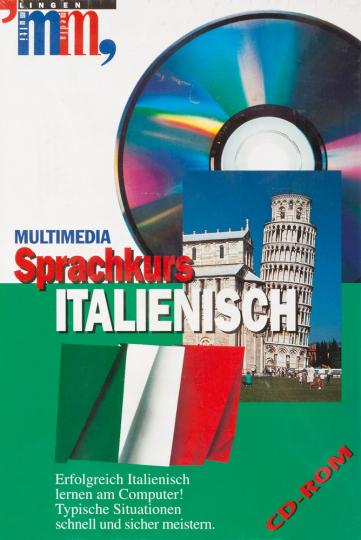 Multimedia Sprachkurs Italienisch auf CD-ROM.