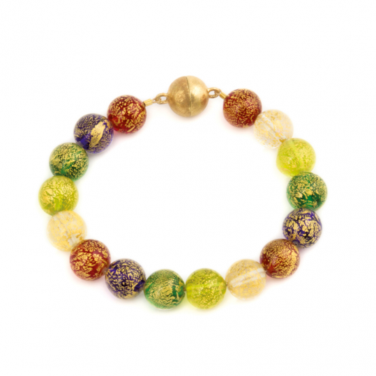 Murano Armband »Farben des Glücks«.