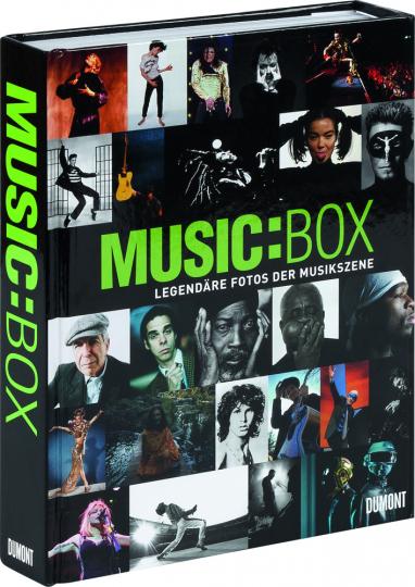 Music:Box. Legendäre Fotos der Musikszene.