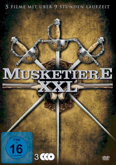 Musketiere XXL 3 DVDs