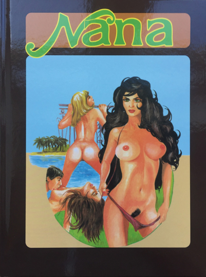 Nana. Erotic Graphic Novel.