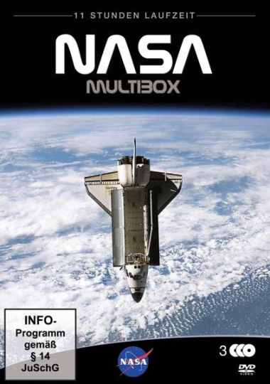 NASA Multibox. 3 DVDs.