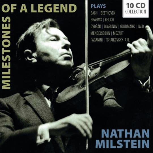 Nathan Milstein. Milestones of a Legend. 10 CDs.