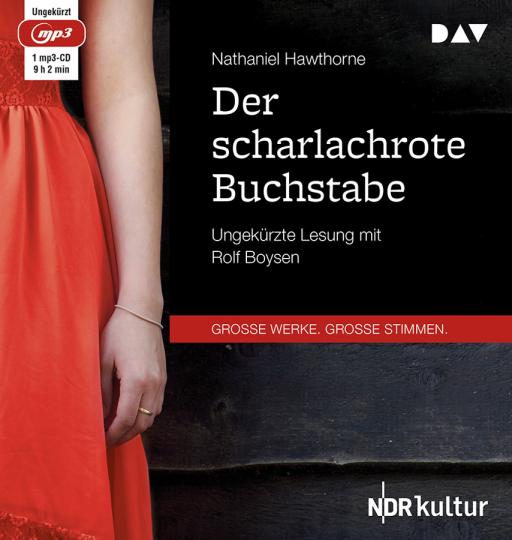 Nathaniel Hawthorne. Der scharlachrote Buchstabe. mp3-CD.
