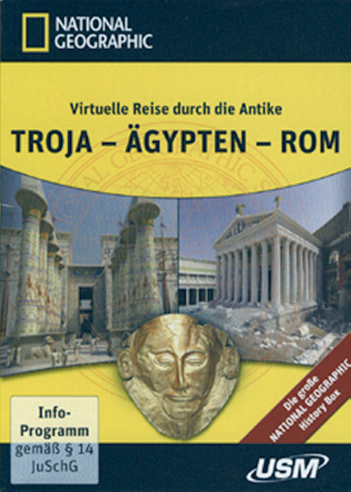 National Geographic History Box. Troja - Ägypten - Rom. 3 DVD-ROM & 2 DVD-Video.
