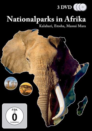Nationalparks in Afrika 10 DVDs