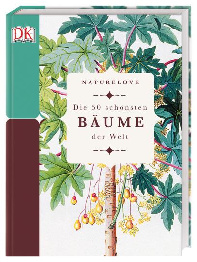 Naturelove. Die 50 schönsten Bäume der Welt. Ein Buch wird zum Kunstwerk.