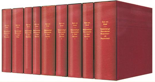 Natursystem 9 Bände