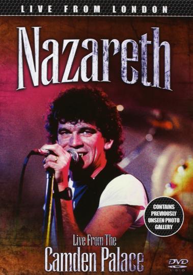 Nazareth. Live From Camden Palace 1985. DVD.