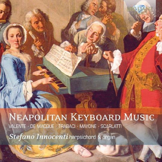 Neapolitanische Cembalo-Musik CD