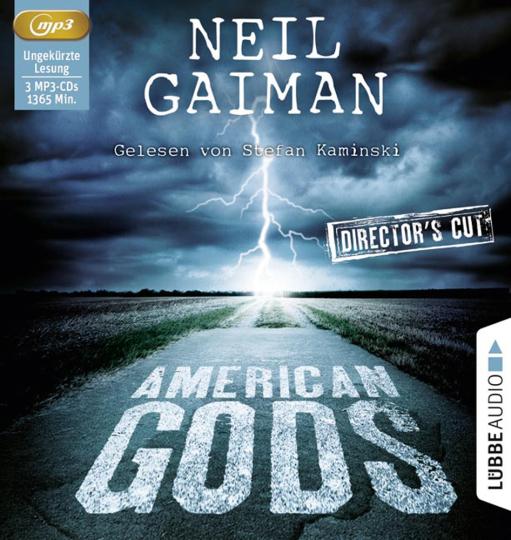 Neil Gaiman. American Gods. 3 mp3-CDs.
