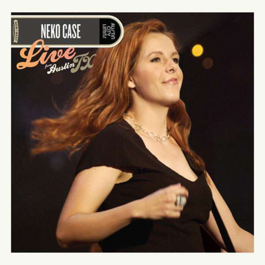 Neko Case. Live From Austin, TX. 1 CD, 1 DVD.