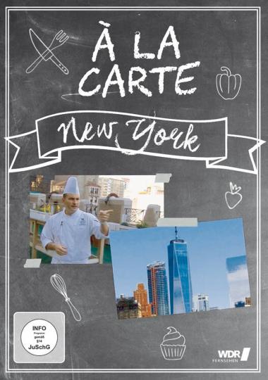 New York Á LA CARTE - Eine Reise durch die Gastronomie der Metropolen und Urlaubs-Hot-Spots DVD