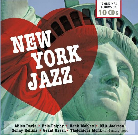 New York Jazz. 19 Original-Alben. 10 CDs.