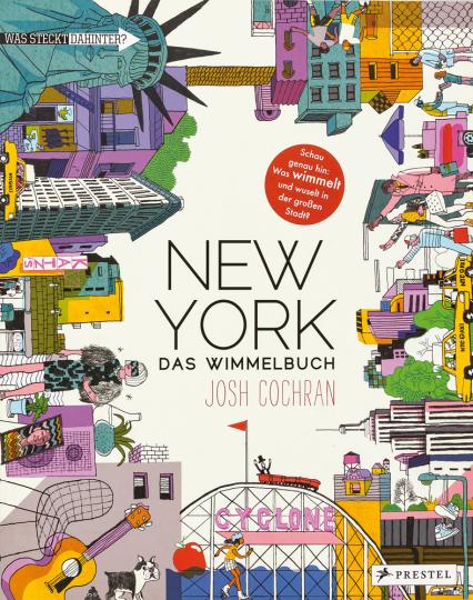 New York. Das Wimmelbuch.