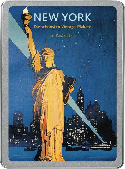 New York. Die schönsten Vintage-Plakate. Postkarten-Set.