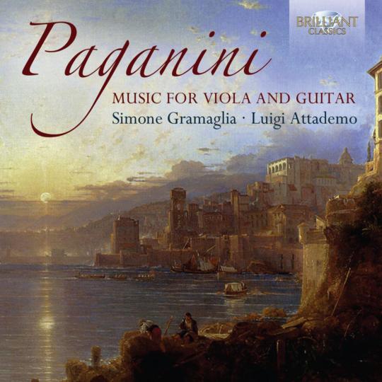 Niccolo Paganini. Werke für Viola & Gitarre. CD.