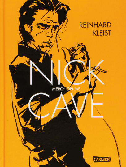 Nick Cave. Mercy on me. Graphic Novel.