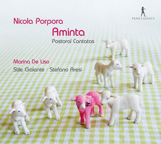 Nicola Antonio Porpora. Pastoral-Kantaten - »Aminta«. CD.