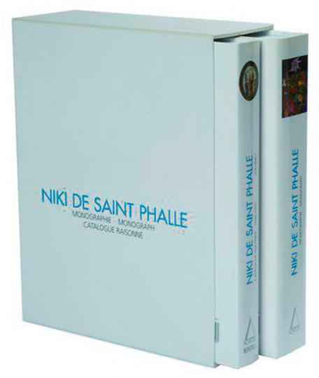 Niki de Saint Phalle - Catalogue Raisonné - Bilder, Schiessbilder, Assemblagen, Reliefs 1949-2000 und Monografie, 2 Bände im Schmuckschuber.